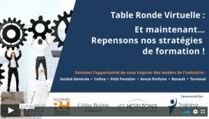table ronde virtuelle strategies de formation